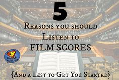 Susannah's Film Facts: 5 Reasons You Should Listen to Film Scores (And a List to Get You Started} - Constant Collectible