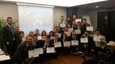 MASTERtraining Public Speaking, Verona, novembre 2014. Gruppo di Wfranchisee invitati dall'Azienda per la formazione a relazionare in pubblico durante i MYevents W55.