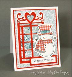 Winter Wishes Window Card - stampTV