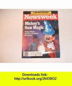 Newsweek April 3, 1989 (MICKEYS NEW MAGIC - DISNEY WORLD UNVEILS A $1 BILLION MOVIELAND - A NEW DRUG OFFENSIVE - FIGHTING CRACK IN RURAL AMERICA, VOLUME CXIII, NO. 14) JOE MCNALLY ,   ,  , ASIN: B0053EW0ZG , tutorials , pdf , ebook , torrent , downloads , rapidshare , filesonic , hotfile , megaupload , fileserve