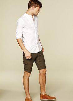 Shop this look on Lookastic: http://lookastic.com/men/looks/light ...