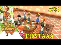Story of Seasons #23 | Fiestuki en casa
