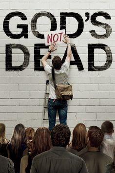 This picture never ceases to bring joy to my heart. Guess what, guys? God's not dead.