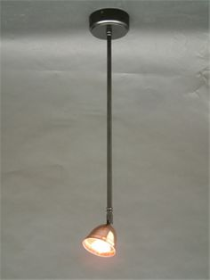 Single ceiling pendant spotlight with adjustable lamp head. Ceiling Pendant, Pendant Lighting, Ceiling Lights, Spot Lights, Light Up, Design, Home Decor, Decoration Home, Room Decor