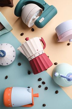 (click in photo for wavtch now) the best tips for you! Coffee Set, Coffee Maker, Simple Artwork, 3d Artwork, Kitchen Timers, Id Design, Diy Electronics, Colour Schemes, Toddler Toys