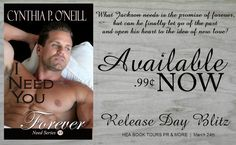 *..HEA Bookshelf..*: I NEED YOU FOREVER by @CynthiaPONeill - #NewRelease #99cents