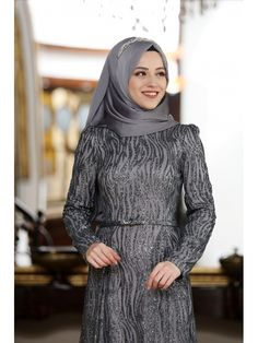 Al Marah Selin Abiye Gri Fashion, Moda, Fasion, Fashion Illustrations, Fashion Models