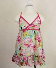size 3-4T floral dress
