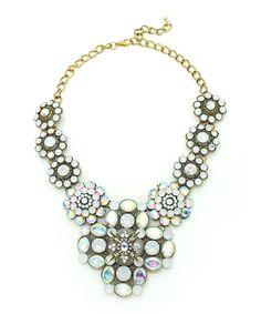 Look what I found on #zulily! Rhinestone Shine My Neck Statement Necklace by Eye Candy LA #zulilyfinds