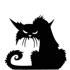Black Cat Vinyl Wall Decal Window Sticker Waterproof Removable Halloween Decoration Large Small -- Awesome products selected by Anna Churchill