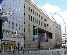 British Embassy, Berlin - Architects; Michael Wilford  Partners, 1994-2000.