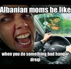 Albanian mom