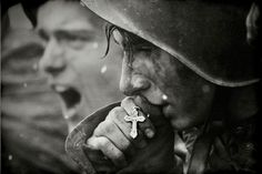 Russian soldiers preparing for the Battle of Kursk in July 1943 (photo created in 2006 from archives)