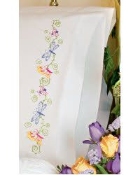 Whimsical Butterflies Pillow Case - I really like this for either curtains or for Bekah's bed.