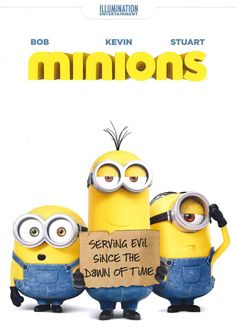 DESPICABLE ME's minions get their very own spin-off in this summer tent-pole from Universal Pictures. Pierre Coffin and Kyle Balda co-direct this animated comedy featuring the voices of Sandra Bullock