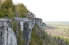 Manitoulin Island -cup and saucer hiking trail