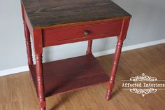 Barn Red Side Table