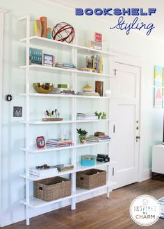 HOW TO: Bookshelf Styling #decorate #style