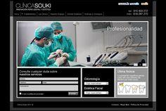 Diseño de la Web de Clinica Souki