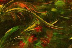 Unter Wasser Acryl auf Holz, 80 x 60 cm von Runa Argeya