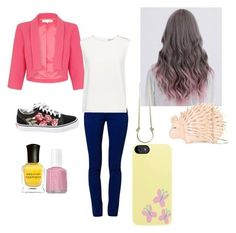 """fluttershy outfit"" by kenessyzap on Polyvore featuring art, Summer, Spring, MyStyle, MLP and Fluttershy #polyvoreoutfits"