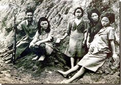 Asian women made pregnant by Japanese soldiers