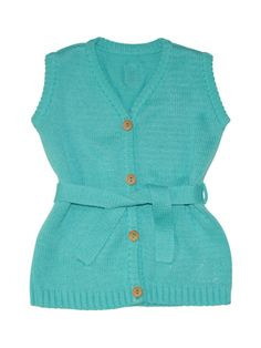 Front Tie Sweater Vest from European Favorite: Those Baby Basics on Gilt