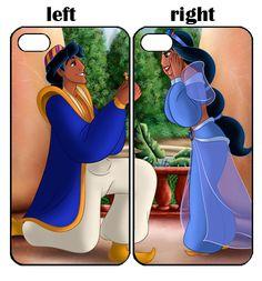 Aladdin and Jasmine Couple iPhone 6 iPod 4 LG Nexus 4 Sony Couple Cases