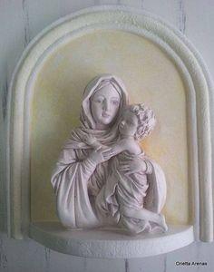 Virgen con niño.