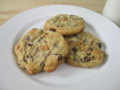 Low-Fat Chocolate Chip Cookies - Eat. Drink. Love.