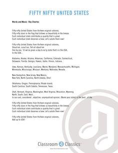 Patriotic Songs for kids. Patriotic music for elementary schools, Patriotic Songs Lyrics, Patriotic Songs For Kids, Patriotic Crafts, Preschool Songs, Preschool Learning, Kids Songs, Elementary Music, Elementary Schools, Music Classroom