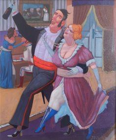 ArtGalery ° PERSONALART.PL tytuł/title: Idziemy w tango autor: Jacek Pałucha personalart.pl/Jacek-Palucha