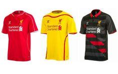 cfd46509f JERSEY LIVERPOOL FC 2014 15 Liverpool Fc Kit
