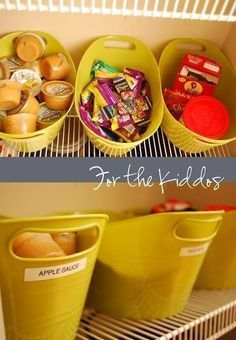 7 Snack Stations and Setup Ideas For Organizing Snacks at Home — Kitchen Organization Inspiration | The Kitchn