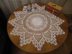 Crochet doily by GalinaDolia, $75.00 USD
