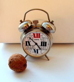Hey, I found this really awesome Etsy listing at https://www.etsy.com/listing/222849010/soviet-vintage-mechanical-alarm-clock