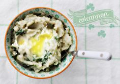 Colcannon - Mashed Potatoes with Kale & Scallions