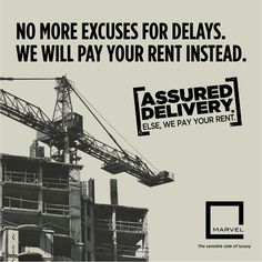 Marvel Realtor's revolutionary Assured Delivery initiative is here! We guarantee to deliver your dream home on time. If not, we will pay your rent. ‪#‎AssuredDelivery‬ For more: http://bit.ly/AssuredDelivery