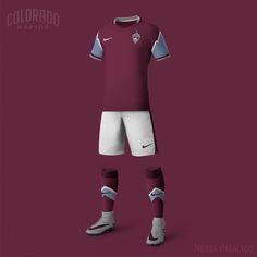 Nike MLS Concept Kits by Nerea Palacios | Colorado Rapids