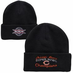 Chicago Bears Super Bowl Commemorative Knit Hat