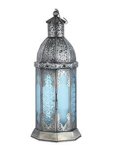 NILAM lantern: turquoise