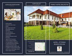 Leaflet for a hotel - Hotel szórólap megadott tartalmi szempontok alapján Behance, Photoshop, Mansions, House Styles, Ribbons, Mansion Houses, Manor Houses, Fancy Houses, Palaces
