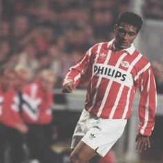 """ad363be4d Football Shirt Collective on Instagram  """"Romario rocking the long sleeve  vintage Adidas x PSV shirt 🇧🇷🔥👌 Link in bio 👆"""""""