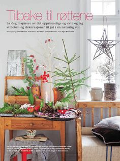 Purpur Scandinavian Christmas, Inspiration, Furniture, Ideas, Home Decor, Biblical Inspiration, Decoration Home, Room Decor, Home Furnishings