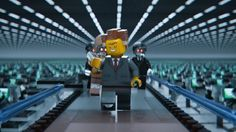 The Lego Movie - President Business - provided by Warner Bros Pictures in association with Village Roadshow Pictures and LEGO System AS Lego Ninjago Movie, Lego Batman Movie, La Grande Aventure Lego, Village Roadshow Pictures, Global Stocks, Lego System, Movies 2014, Lego Photo, Film D'animation