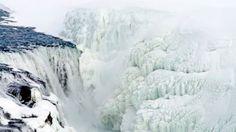 Gullfoss waterfall-Iceland