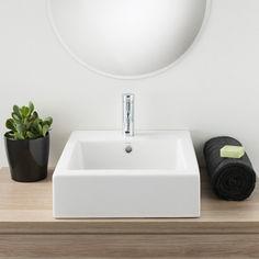 Caroma Liano Above Counter Basin Fresh Minimalist Design