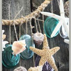 DIY Sea Shore Garland #DIY #sea #beach #garland #wedding #decor
