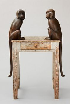HUMP DAY CULTURE: CLAUDE & FRANCOIS-XAVIER LALANNE, lalanne monkeys