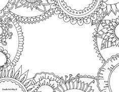 The 135 Best Colouring Pages For Adult Therapy Images On Pinterest